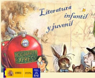 Web de literatura infantil de la Biblioteca Nacional de España
