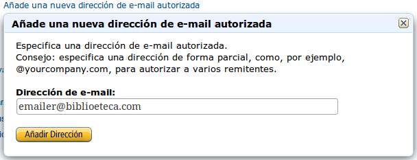 AddEmail