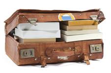 Full suitcase