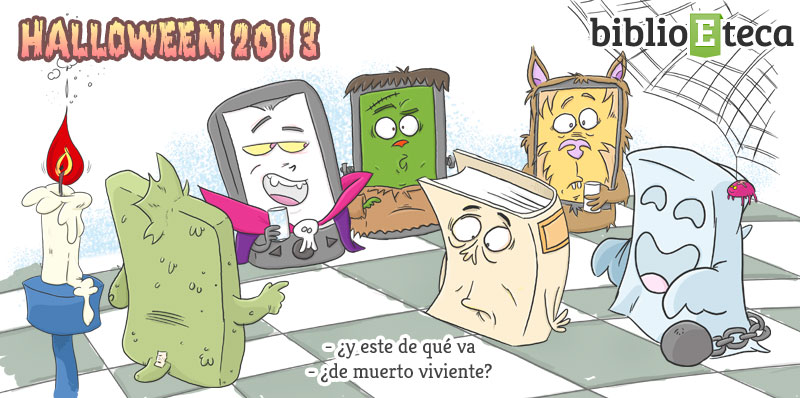 El Halloween de los libros