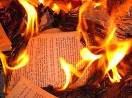 libros hoguera
